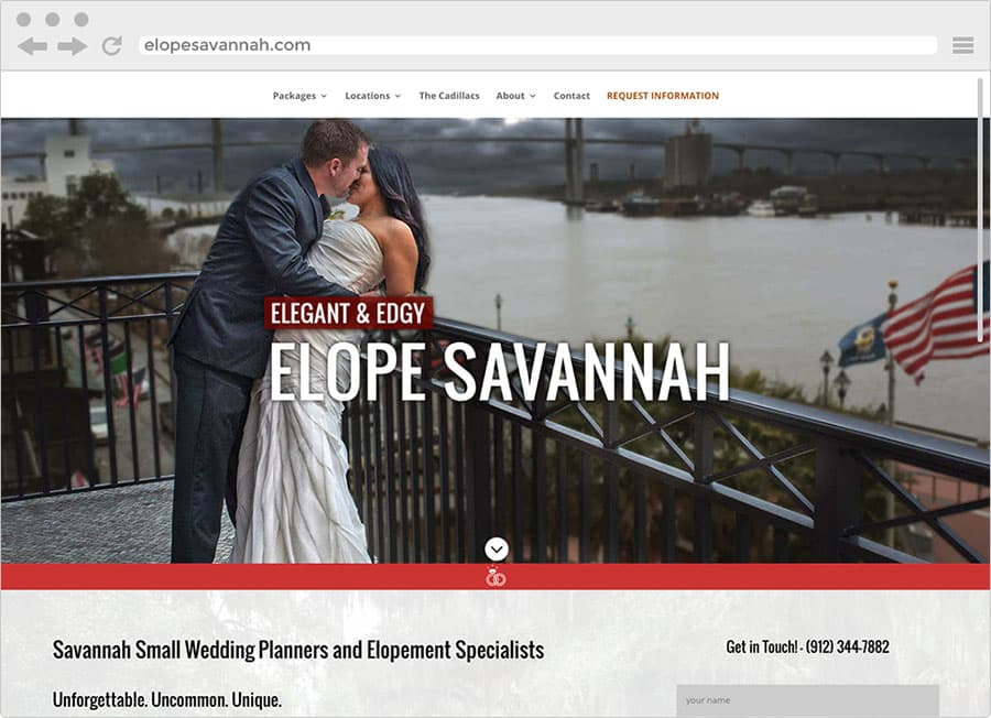Web Design Portfolio| TradeBark Savannah