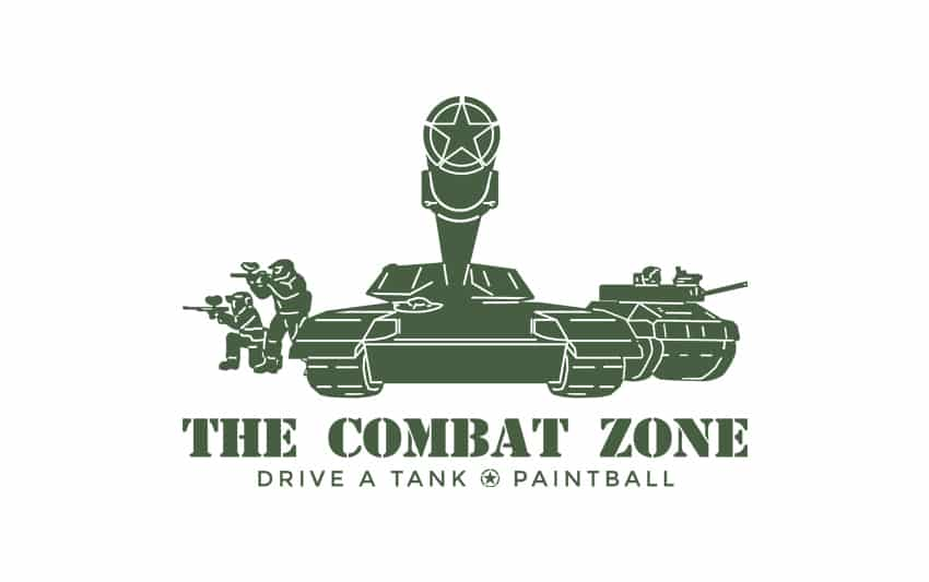 The Combat Zone Logo Design
