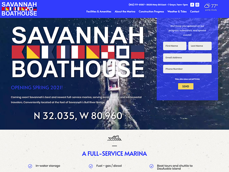 Savannah Web Design | TradeBark Savannah GA