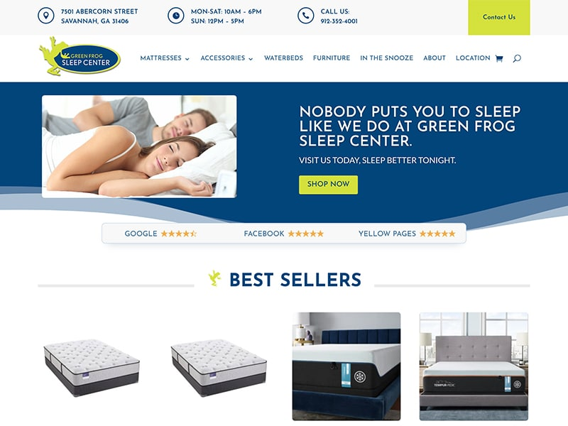 Online Store Website Design   TradeBark Savannah GA